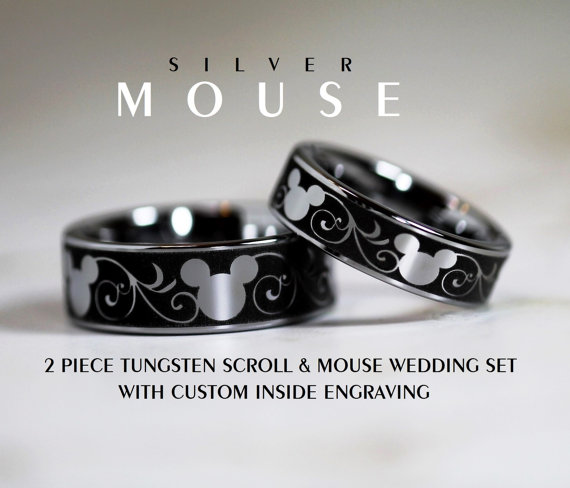 Disney Rings Perfect For Your Dream Disney Wedding!