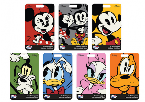 New WDW Luggage Tags to Ship With MagicBands