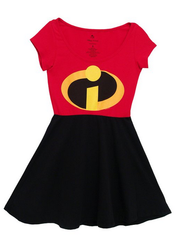 Disney Discovery Incredibles Skater Dress