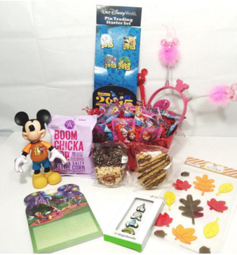 Fall 2015 Disney Parks Limited Edition Gift Basket Delivered To Your