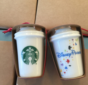 Disney Starbucks Christmas Tree Ornaments Now Available
