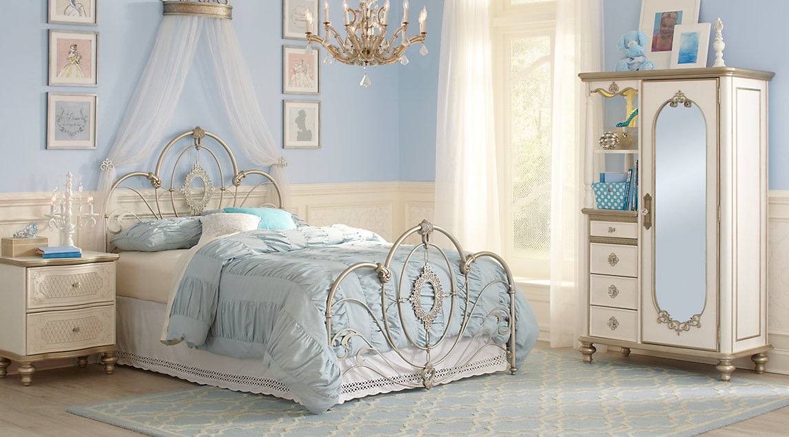 Rooms To Go Kids Princess Bed