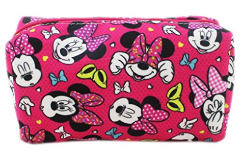 Disney Discovery Minnie Mouse Makeup Bag