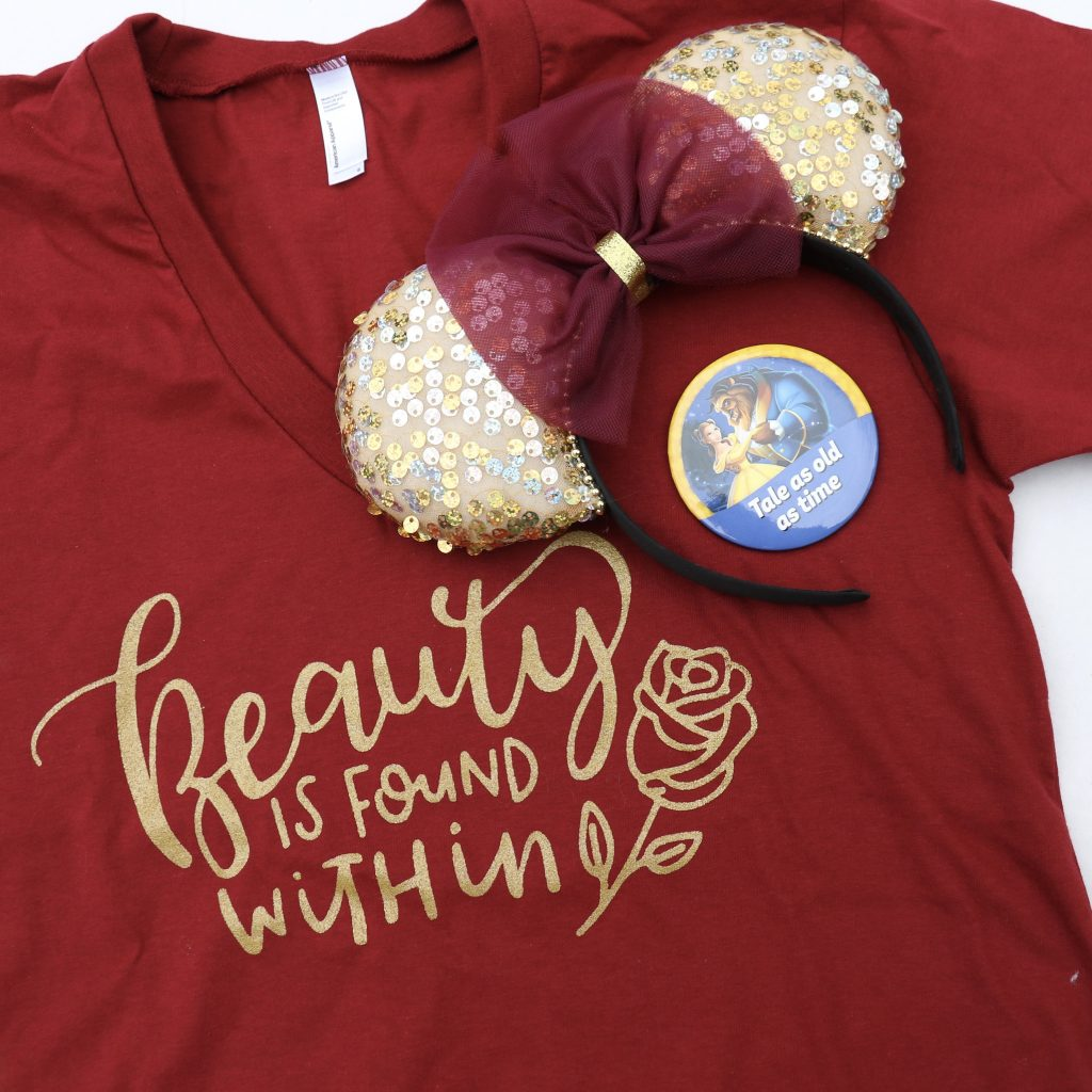 Love Each Other When Two Souls: A New Beauty And The Beast Shirt Design That Belle Would