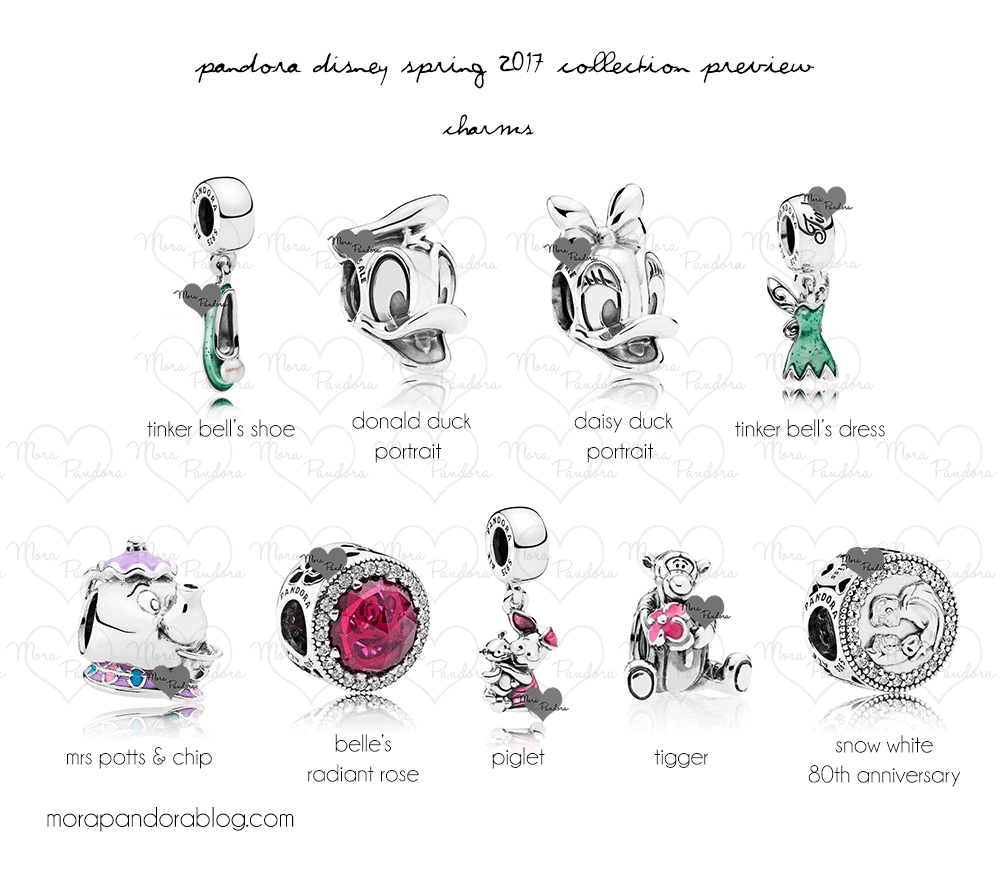 Taking A Closer Look at The 2017 Disney Spring Pandora Collection ...
