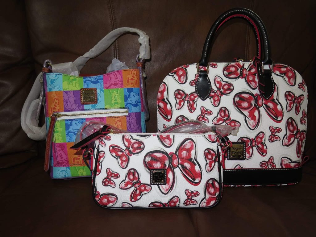 Outlet Discovery Of Two Disney Dooney And Bourke Prints Is