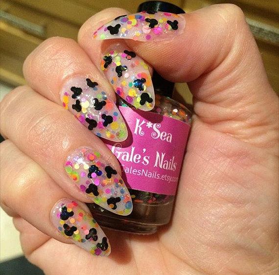 Mickey Inspired Nail Polish