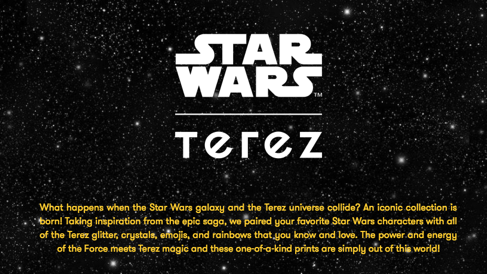 Terez X Star Wars Collaboration