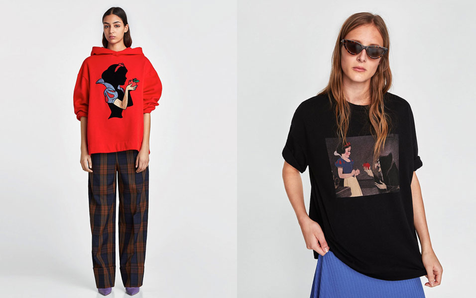 Snow White Is The Star Of The New Collection From Zara