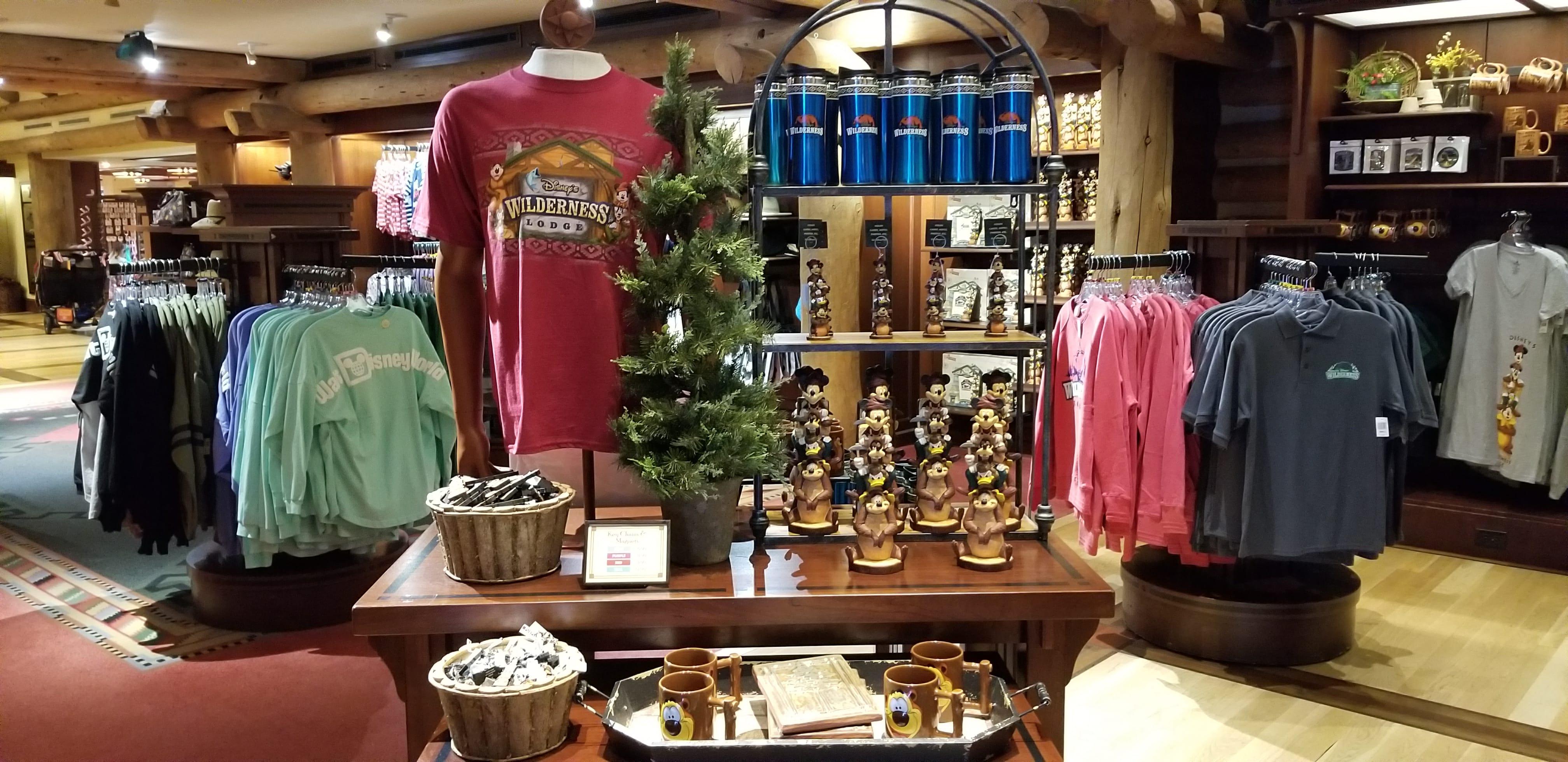 Wilderness Lodge Merchandise