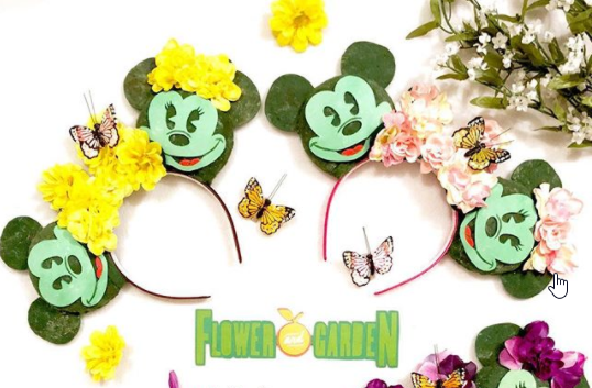 Topiary Minnie Ears