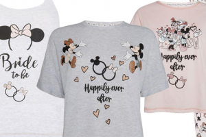 Disney Bridal Pajamas