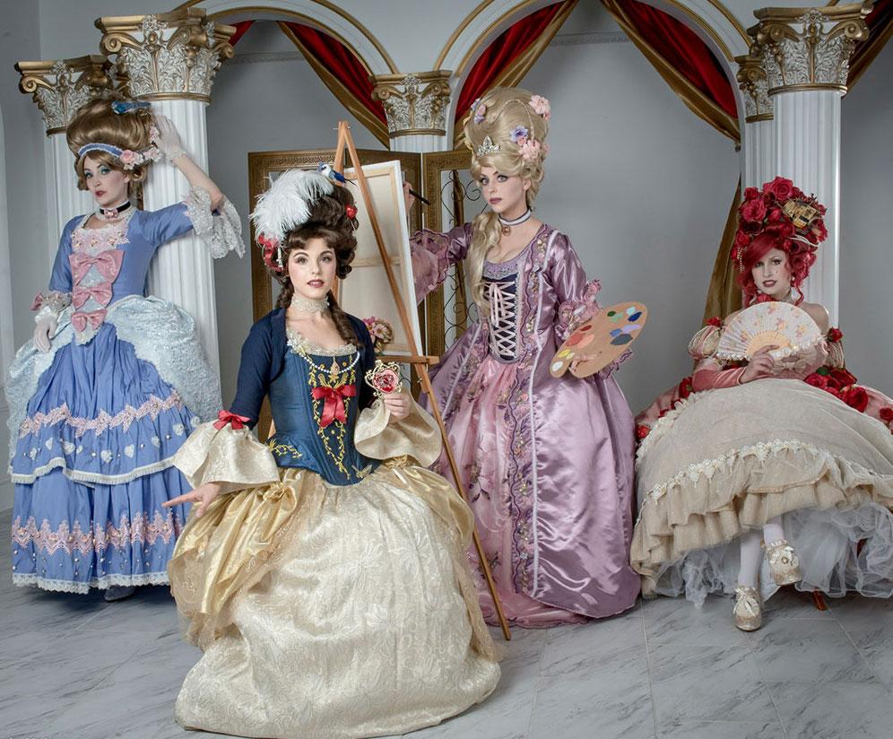 Rococo Disney Princess