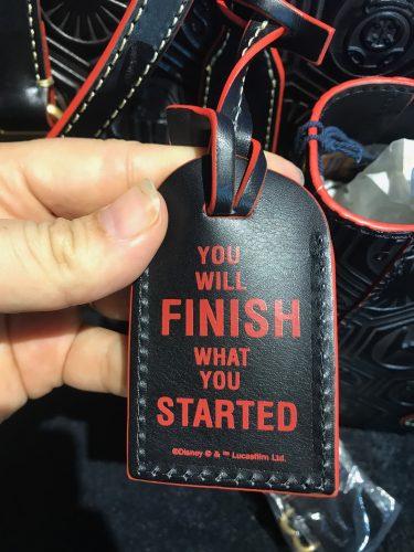 rundisney star wars half marathon 2018 dark side dooney and bourke