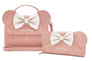 Rose Pink Minnie Mouse Loungefly