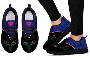 Princess Anna Inspired Sneakers