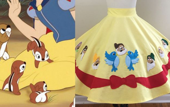 Custom Disney Skirts