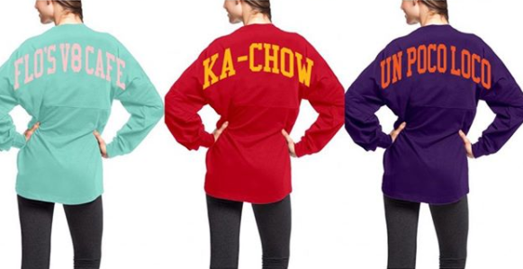 Pixar Inspired Spirit Jerseys