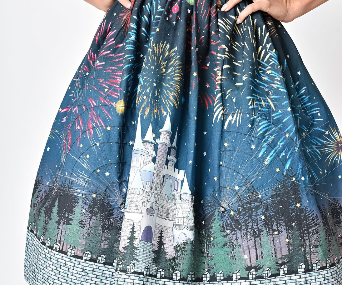 Light-Up Castle Fireworks Skirt