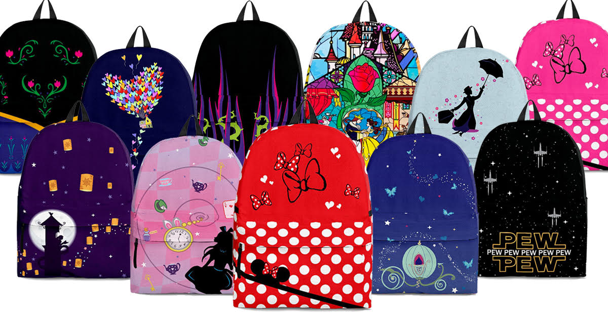 Disney Inspired Backpacks