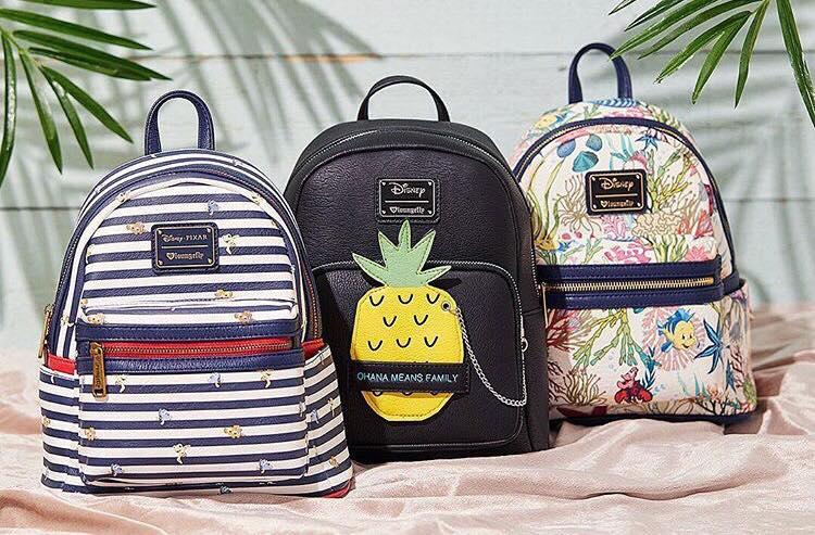 Loungefly Mini Disney Backpacks