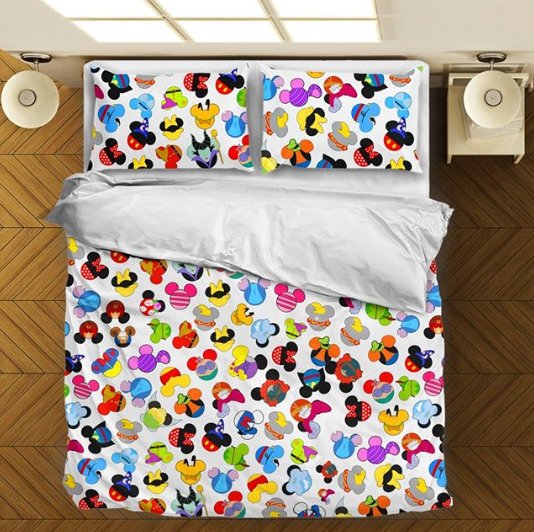 Mickey Character Icons Bedding