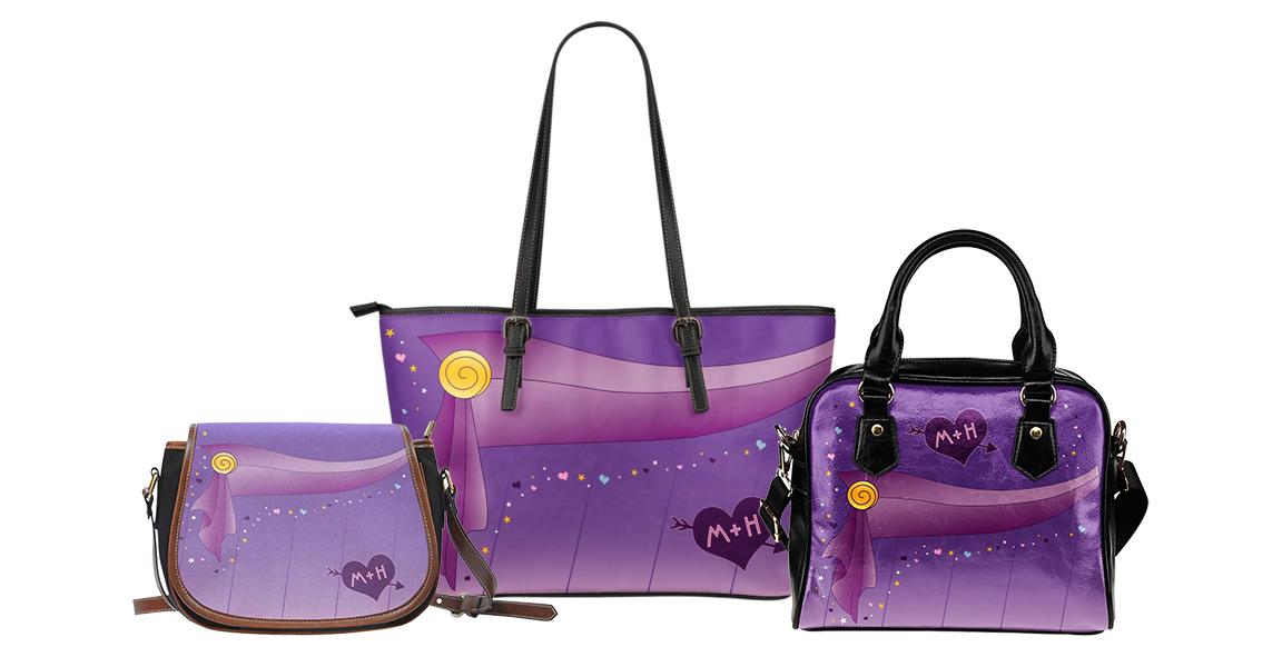 Megara Inspired Handbags