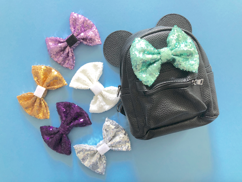 Interchangeable Bow Minnie Backpacks