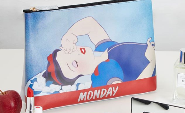 Snow White Makeup Bag