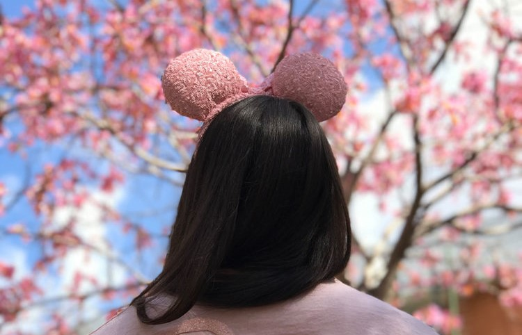 Millennial Pink Minnie Ears
