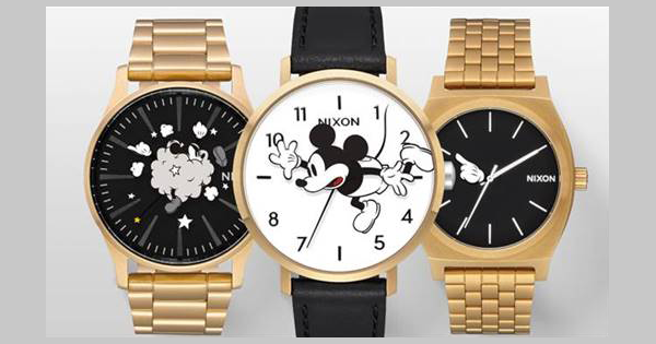 Nixon Mickey Mouse Watch Collection