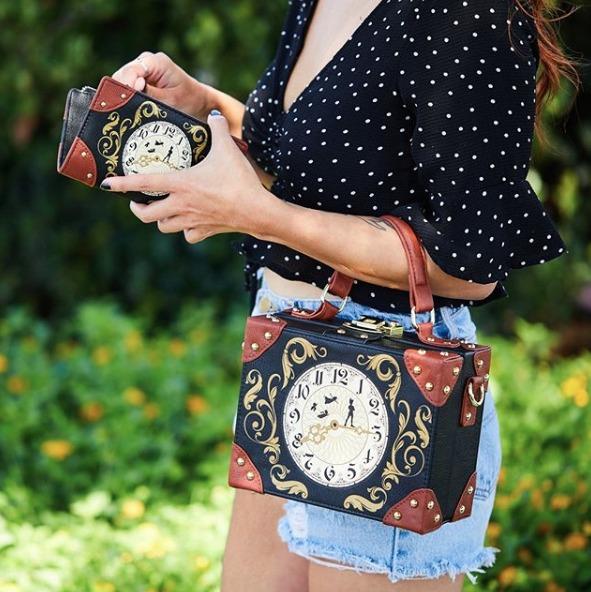 Loungefly Disney Peter Pan Clock Purse