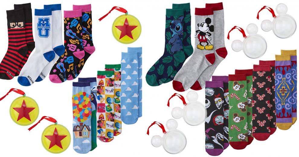 Disney Sock Ornaments