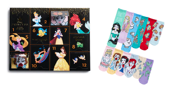 Disney Princesses Socks Gift Set