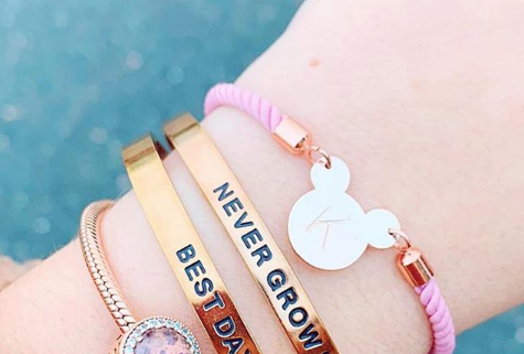 Personalized Mickey Bracelets