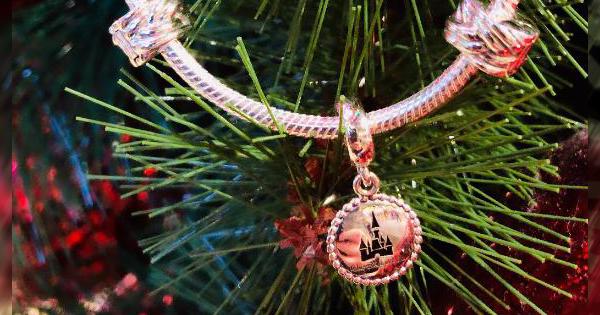 Pandora Charm and Bracelet
