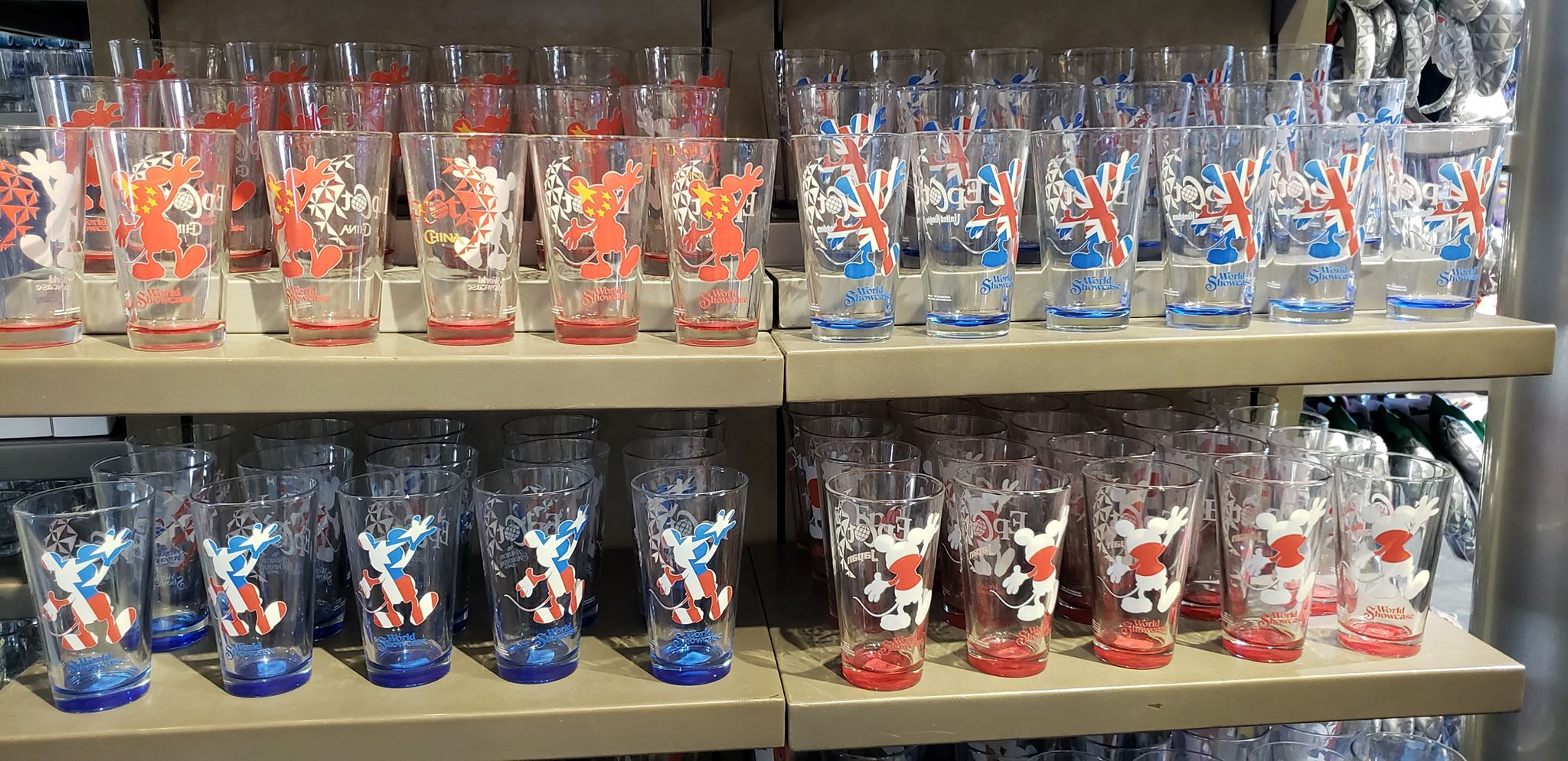 World Showcase Glasses