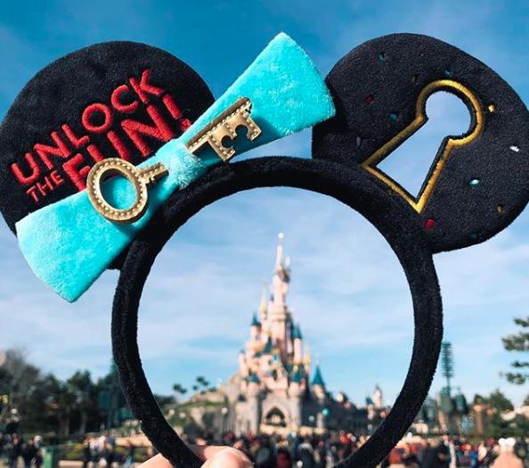 Disneyland Paris Mickey Key Ears
