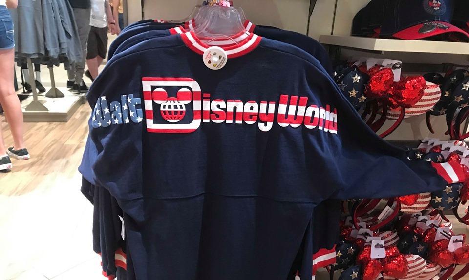 Patriotic Disney Spirit Jerseys