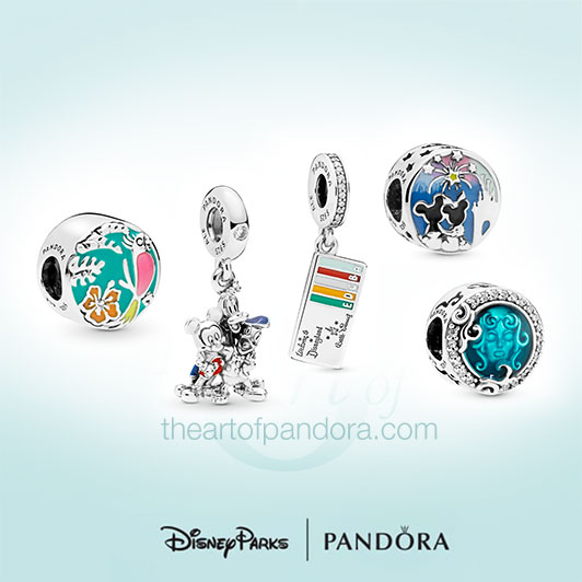 Disney Parks Summer Pandora Collection Revealed - Jewelry -