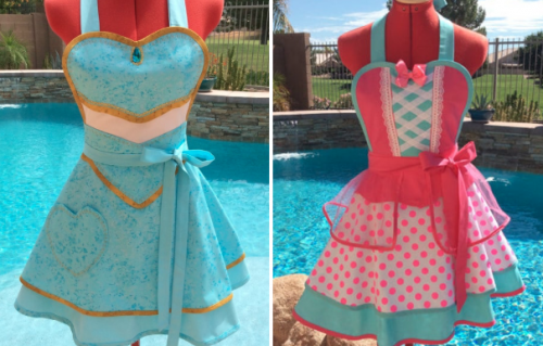 Character inspired apron