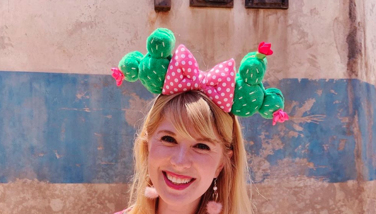 Cactus Minnie Mouse Ears