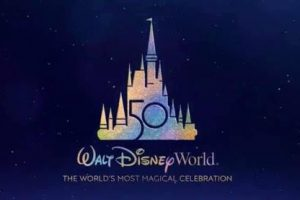 Walt Disney World 50th Anniversary Logo
