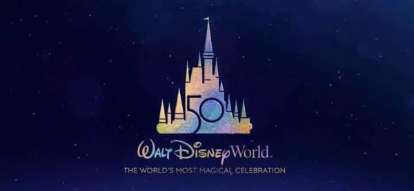 Walt Disney World 50th Anniversary Logo