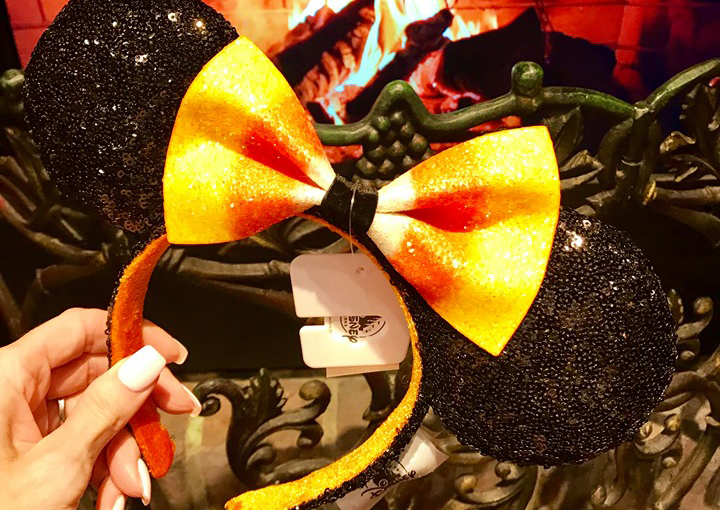 Candy Corn Minnie Mouse Ears