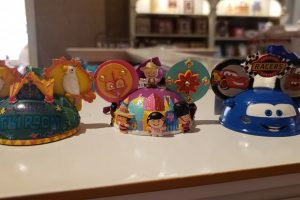 Disney Attractions Mickey Hat Ornaments