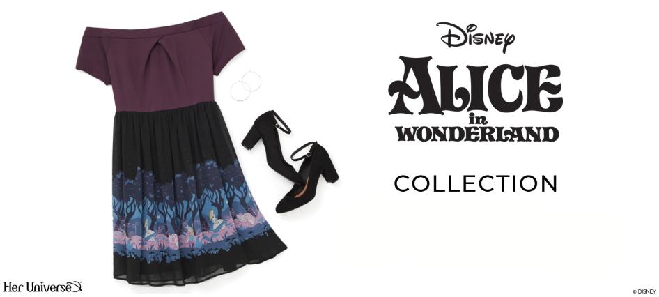 Alice in Wonderland Torrid Collection