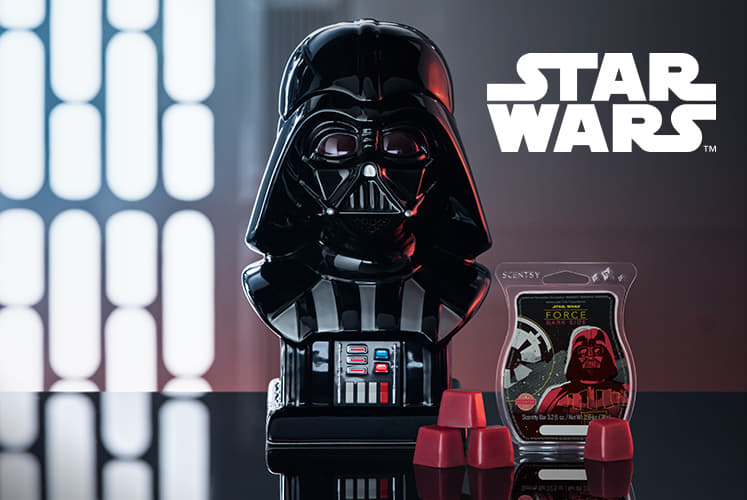 Scentsy Darth Vader Collection
