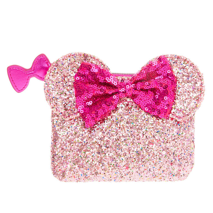 Pink Minnie Mouse Coin Purse