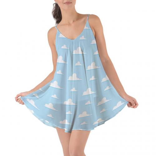 Pixar Clouds Cover Up Dress